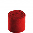 groothandel Woondecoratie: Pot band voelde, breedte 15cm, lengte 5 m, donkerr